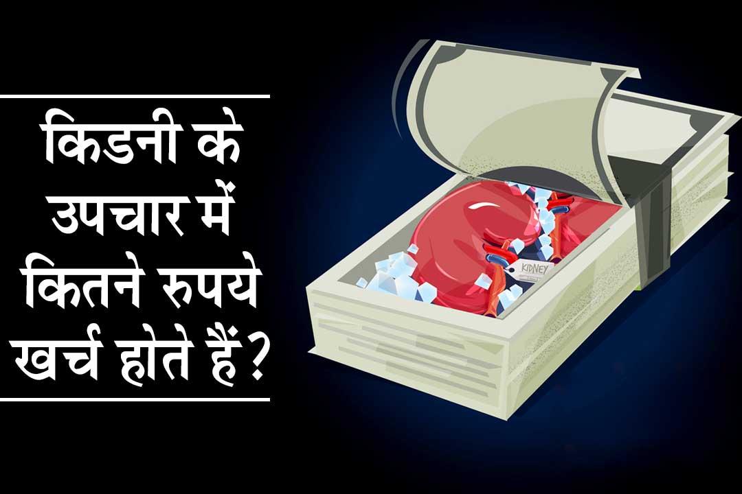 किडनी के उपचार में कितने रुपये खर्च होते हैं